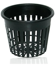 9GreenBox - 3 Inch Round Orchid/Hydroponics Slotted Mesh Net Pot - 20 Pack