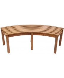Achla Designs Curved Backless Bench