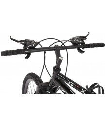 26 in Mountain Bike for Men Women- 21 Speed Outroad Bicycle with Double Disc Brake and High Carbon Steel Dual Suspension Frame (Black, As Shown)